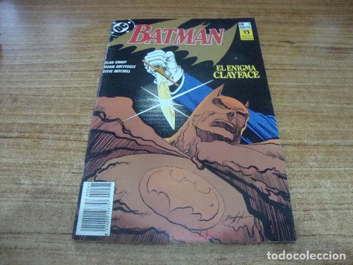 BATMAN Nº 1 ZINCO EL ENIGMA CLAYFACE (Tebeos y Comics - Zinco - Batman)