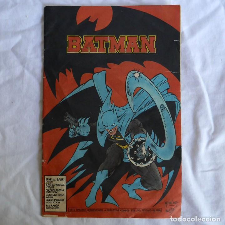 COMIC BATMAN ZINCO 1988 (Tebeos y Comics - Zinco - Batman)