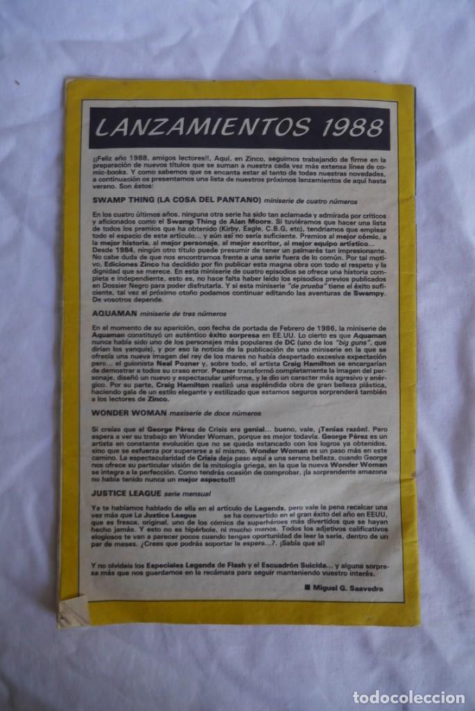 Cómics: Comic Batman Zinco 1988 - Foto 2 - 288721413