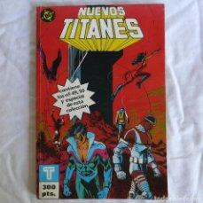 Cómics: NUEVOS TITANES RETAPADO 11 DC ED. ZINCO Nº 49 AL 50. Lote 288721848
