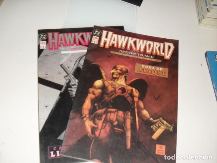 HAWKWORLD 1 Y 2.EDICIONES ZINCO.AÑO 1990. (Tebeos y Comics - Zinco - Superman)