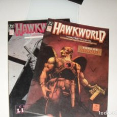 Cómics: HAWKWORLD 1 Y 2.EDICIONES ZINCO.AÑO 1990.. Lote 288858278