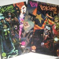 Cómics: THE PSYCHO,COL COMPLETA,.EDICIONES ZINCO.AÑO 1990.. Lote 288858433