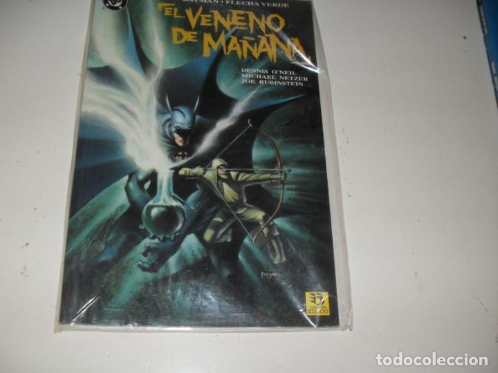 BATMAN-FLECHA VERDE:EL VENENO DEL MAÑANA.EDICIONES ZINCO.AÑO 1993. (Tebeos y Comics - Zinco - Superman)
