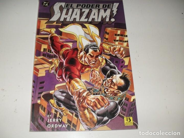 EL PODER DE SHAZAM¡¡¡.EDICIONES ZINCO.AÑO 1995. (Tebeos y Comics - Zinco - Superman)