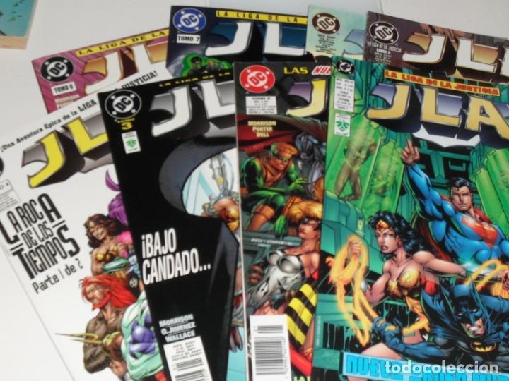 JLA,8 PRESTIGIOS,:NUEVO ORDEN MUNDIAL.EDICIONES VID,AÑO 1998. (Tebeos y Comics - Zinco - Superman)