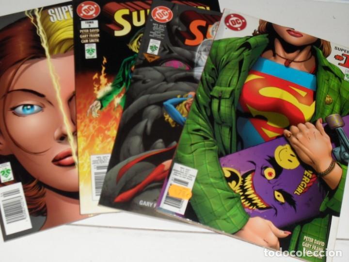 SUPERGIRL,4 TOMOS,AUTOR PETER DAVID.EDICIONES VID,AÑO 1999. (Tebeos y Comics - Zinco - Superman)