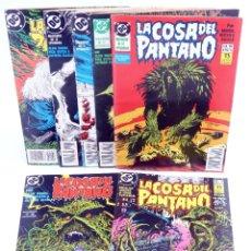 Cómics: LA COSA DEL PANTANO 4ª SERIE 2 3 4 5 6 9 10. LOTE DE 7 (MOORE / VEITCH / ALCALÁ) ZINCO, 1991. OFRT. Lote 288862723