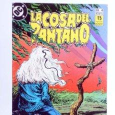 Cómics: LA COSA DEL PANTANO 4ª SERIE 4 (MOORE / VEITCH / ALCALÁ) ZINCO, 1991. OFRT. Lote 288862748