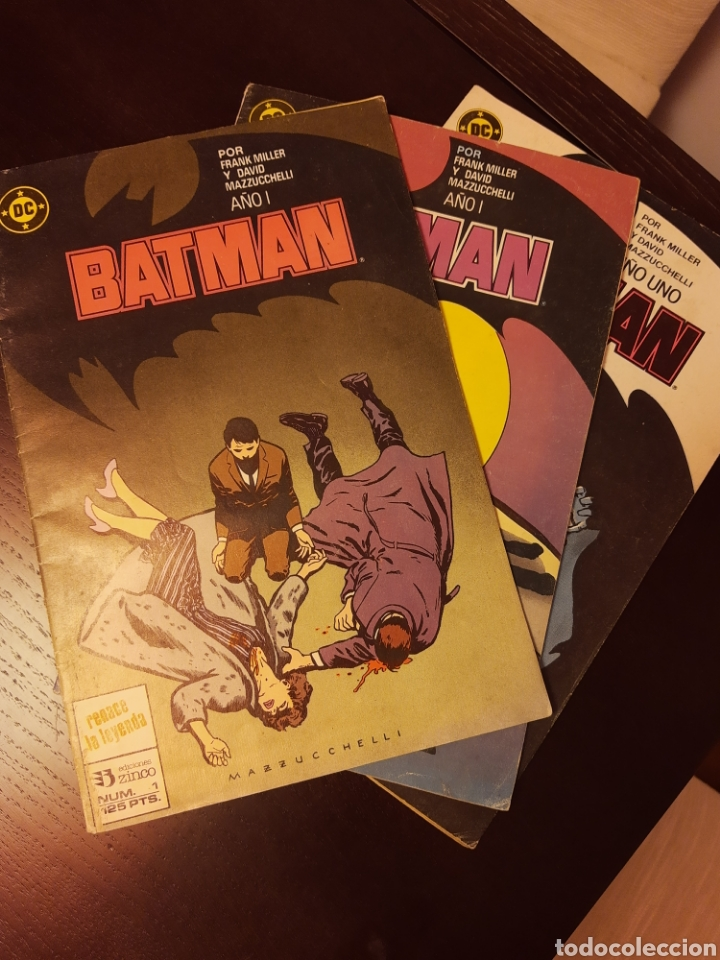 BATMAN AÑO 1 FRANK MILLER (Tebeos y Comics - Zinco - Batman)