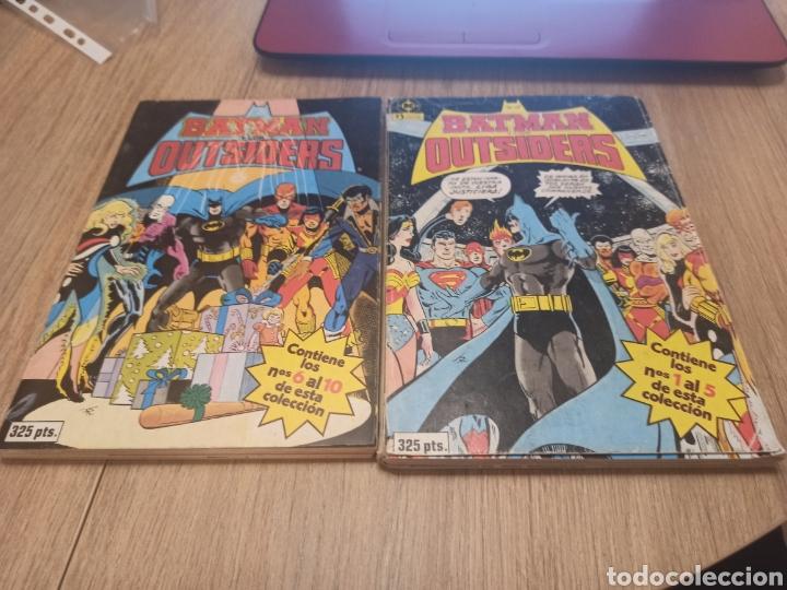 BATMAN OUTSIDERS 26 NÚMEROS COMPLETA ZINCO 6 TOMOS (Tebeos y Comics - Zinco - Outsider)