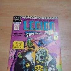 Cómics: COMIC LEGION Nº1 INVITADO ESPECIAL SUPERMAN EDICCIONES ZINCO CORRESPONDE A LEGION 90 ANNUAL Nº1 USA. Lote 289326188