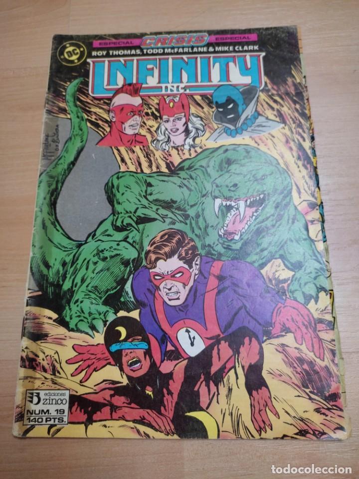 DC COMICS INFINITY Nº 19 DE ROY THOMAS & TODD MCFARLANE - EDICIONES ZINCO 1986 (Tebeos y Comics - Zinco - Infinity Inc)