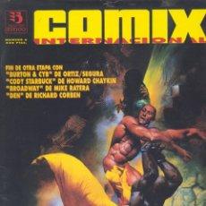 Cómics: COMIX INTERNACIONAL Nº6 (2ª ÉPOCA). ZINCO. CORBEN, JOSÉ ORTIZ, HOWARD CHAYKIN, RATERA, SEGURA, ETC.. Lote 289357103