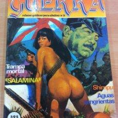 Cómics: TOMO RETAPADO CON 6 RELATOS GRÁFICOS PARA ADULTOS - GUERRA. EDICIONES ZINCO, 1983. Lote 289362093
