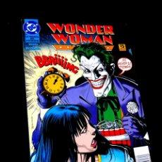 Cómics: CASI EXCELENTE ESTADO WONDER WOMAN LA TRAMPA DEL JOKER DC COMICS ZINCO. Lote 289431623