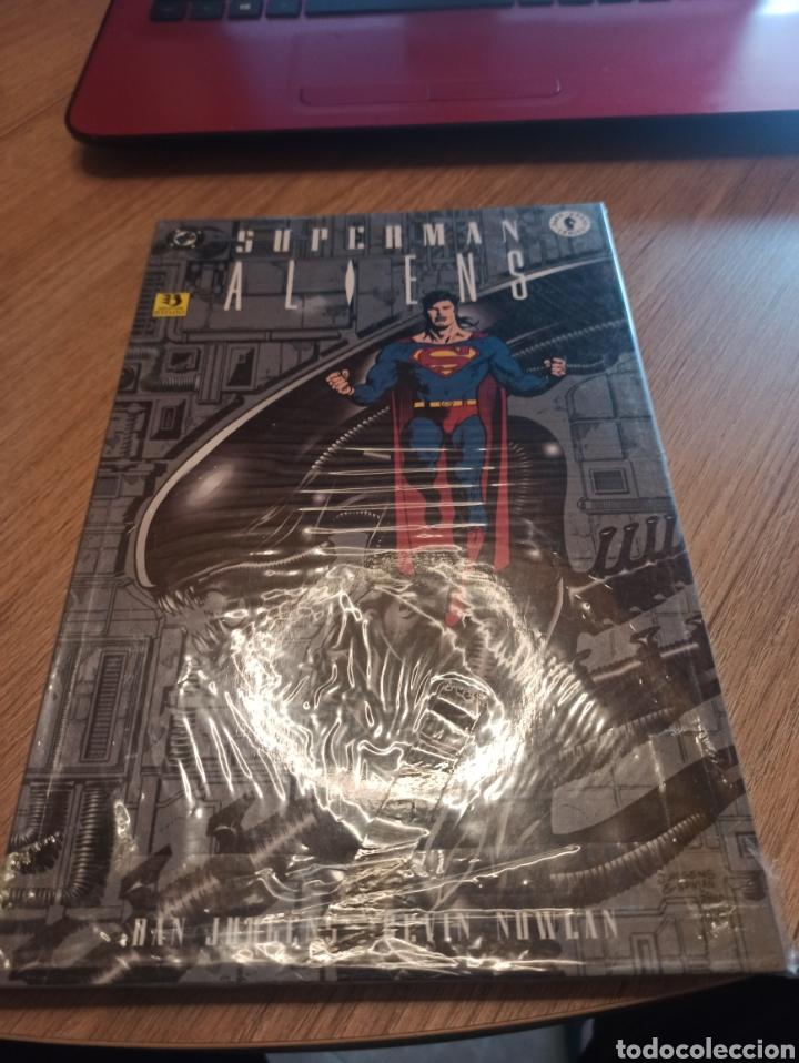 SUPERMAN ALIENS 3 TOMOS COMPLETA ZINCO (Tebeos y Comics - Zinco - Superman)