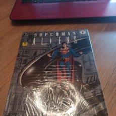 Cómics: SUPERMAN ALIENS 3 TOMOS COMPLETA ZINCO. Lote 289549153