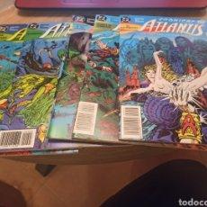 Cómics: CRÓNICAS DE ATLANTIS 7 NÚMEROS COMPLETA ZINCO. Lote 289640443