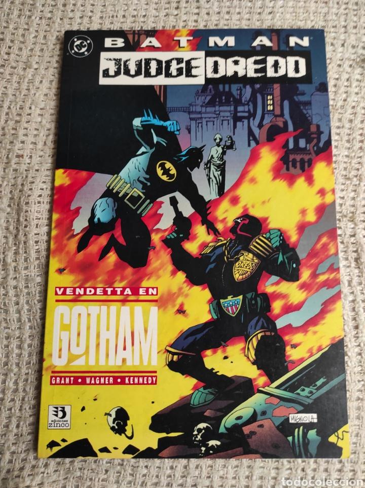 BATMAN & JUDGE DREDD VENDETTA EN GOTHAM -ED, DC - ZINCO (Tebeos y Comics - Zinco - Prestiges y Tomos)