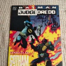 Cómics: BATMAN & JUDGE DREDD VENDETTA EN GOTHAM -ED, DC - ZINCO. Lote 289641698
