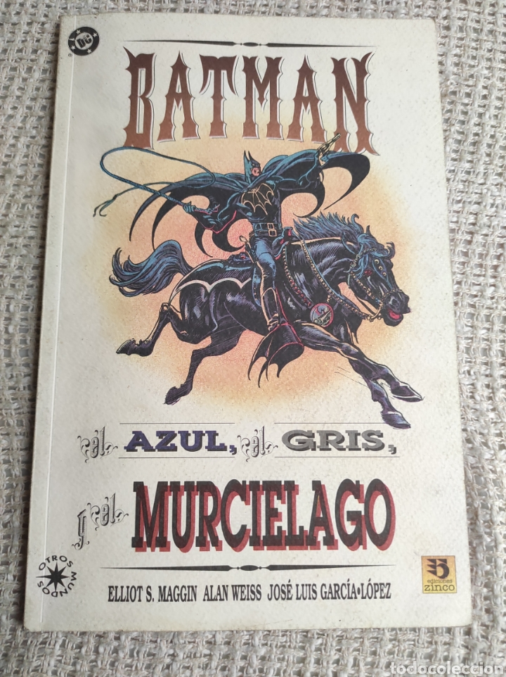 BATMAN EL AZUL, EL GRIS Y EL MURCIELAGO - HISTORIA COMPLETA -ED. DC ZINCO (Tebeos y Comics - Zinco - Prestiges y Tomos)