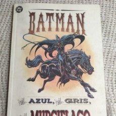 Cómics: BATMAN EL AZUL, EL GRIS Y EL MURCIELAGO - HISTORIA COMPLETA -ED. DC ZINCO. Lote 289641968
