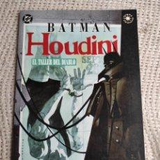 Cómics: BATMAN HOUDINI EL TALLER DEL DIABLO / CHAYKIN -ED. DC ZINCO. Lote 289642168