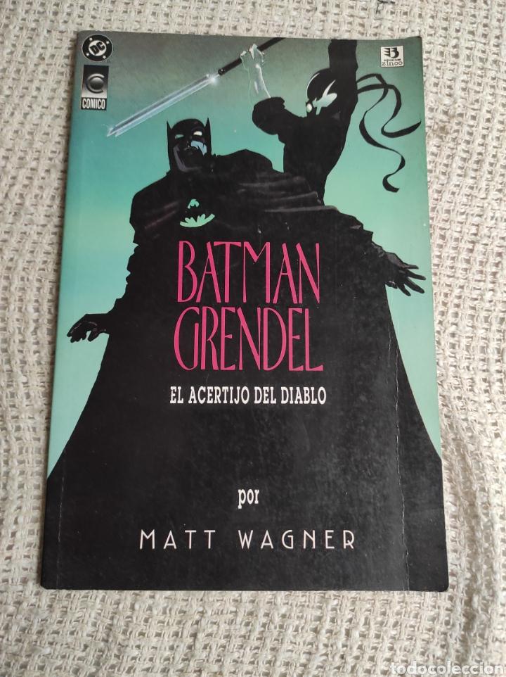 GRENDEL BATMAN LA MÁSCARA DEL DIABLO Nº 1 -ED. DC ZINCO (Tebeos y Comics - Zinco - Prestiges y Tomos)