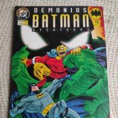 Cómics: BATMAN AVENTURAS : DEMONIOS / PAUL DINI ( 1996 ). -ED. DC ZINCO. Lote 289689763