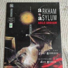 Cómics: BATMAN - ARKHAM ASYLUM - EDICIONES VID / GRANT MORRISON , DAVE MCKEAN - DC. Lote 289690523