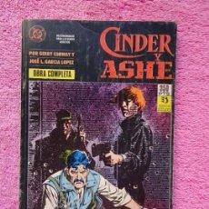 Cómics: CINDER Y ASHE 1-2-3-4 EDICIONES ZINCO 1990 OBRA COMPLETA GERRY CONWAY GARCÍA LÓPEZ RETAPADO. Lote 289850423