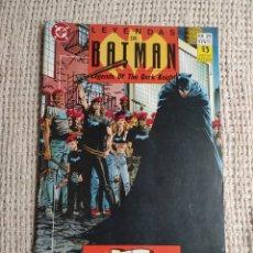 Cómics: LEYENDAS DE BATMAN Nº 21 -ED. DC COMICS ZINCO. Lote 289859128