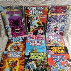 Cómics: CAPITAN ATOM , LOTE 11 EJEMPLARES /EDITA: ZINCO ( DC) AÑOS 80. Lote 289904803