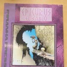 Cómics: EPICURUS EL SABIO. MESSNER LOEBS. Lote 289905488