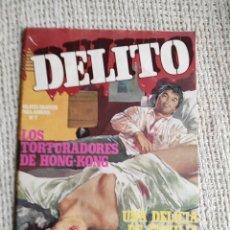 Cómics: DELITO Nº 7 RELATOS GRAFICOS PARA ADULTOS -ED. ZINCO. Lote 289907088