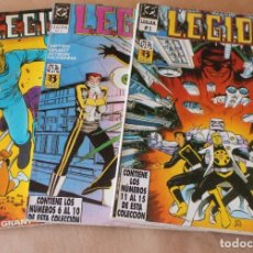 Cómics: LEGION 91 92 – 1 2 3 4 5 6 7 8 9 10 11 12 13 14 15 (EN 3 TOMOS) COMPLETA – ED ZINCO AÑO 1991. Lote 290326253
