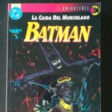 Cómics: BATMAN LA CAIDA DEL MURCIELAGO 1. Lote 291324123