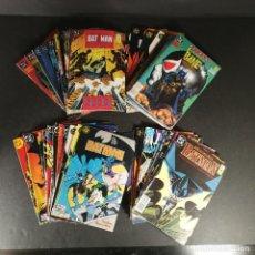 Cómics: LOTE VARIOS COMICS DC ZINCO BATMAN 3 KILOS 50 NÚMEROS. Lote 291969418