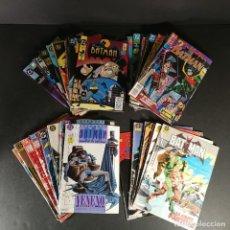 Cómics: LOTE VARIOS COMICS DC ZINCO BATMAN 3 KILOS 48 NÚMEROS. Lote 291969663