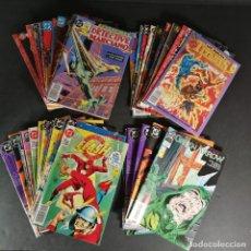 Cómics: LOTE VARIOS COMICS DC ZINCO GREEN ARROW WONDER WOMAN CATWOMAN FLASH TITANES ATOM 3 KILOS 47 NÚMEROS. Lote 291972408
