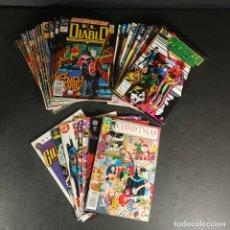 Cómics: LOTE VARIOS COMICS DC ZINCO VARIOS 2 KILOS 31 NÚMEROS. Lote 291972633