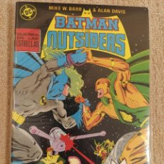 Cómics: BATMAN Y LOS OUTSIDERS POR MIKE W. BARR Y ALAN DAVIS. RETAPADOS ZINCO. NÚMEROS 16 AL 26 + ESPECIAL. Lote 292310753