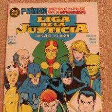 Cómics: LIGA DE LA JUSTICIA 1 AL 10, 13 AL 18, 23 AL 47 + 2 ESPECIALES + LIGA JUSTICIA EUROPA 7 Y 8. ZINCO. Lote 292347123
