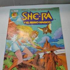 Cómics: COMIC SHE-RA Y EL REINO MAGICO EDICIONES ZINCO MATTEL 1986 NÚMERO 2. Lote 292364718