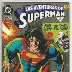Cómics: ZINCO. SUPERMÁN 1993-1996. 36.. Lote 292386823