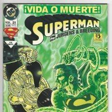 Cómics: ZINCO. SUPERMÁN 1993-1996. 21.. Lote 292386778