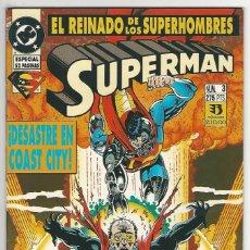 Cómics: ZINCO. SUPERMÁN 1993-1996. 3. Lote 292386793