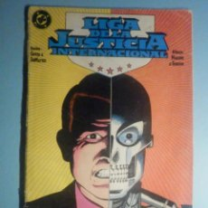 Cómics: COMIC - LIGA DE LA JUSTICIA INTERNACIONAL - Nº 10 - MAXWELL LORO ¿ HOMBRE Ó MÁQUINA? ZINCO. Lote 293255163