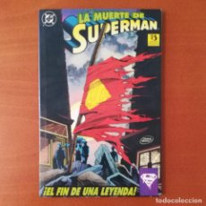 Cómics: LA MUERTE DE SUPERMAN EDICIONES ZINCO. Lote 293264138